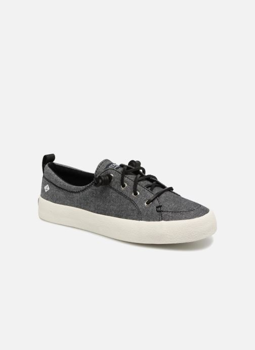 Baskets Sperry Crest Vibe Crepe Chambray Gris vue détail/paire