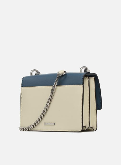 Sacs à main Rebecca Minkoff Christy SM Shoulder Bag Bleu vue droite