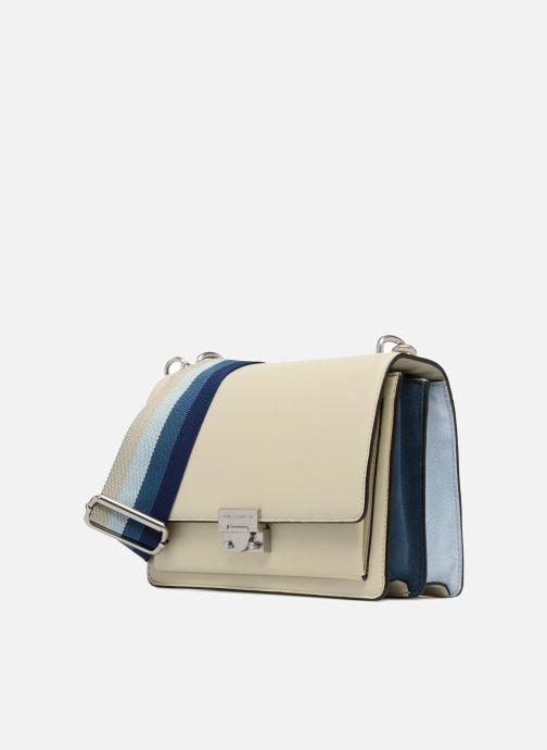 Bolsos de mano Rebecca Minkoff Christy MD Shoulder Bag Blanco vista del modelo