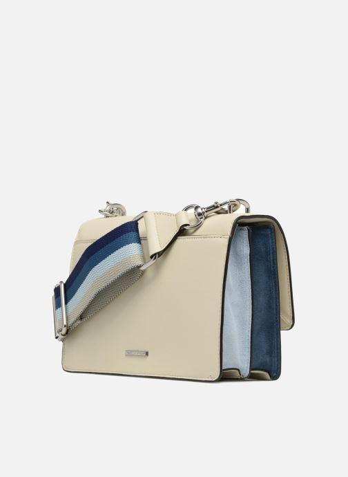 Handtassen Rebecca Minkoff Christy MD Shoulder Bag Wit rechts