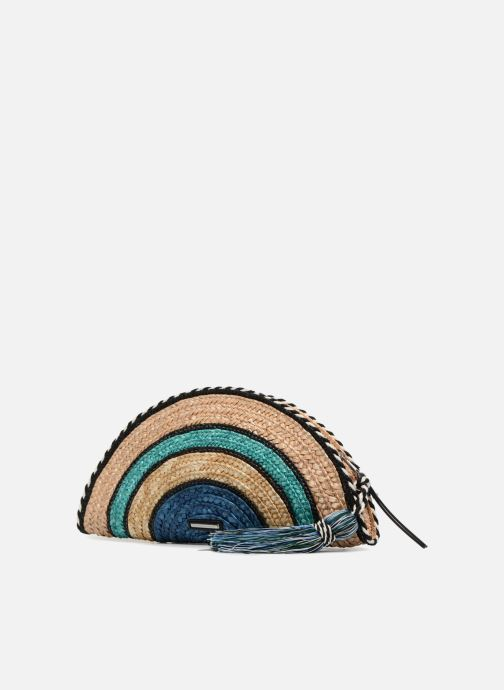 Clutch bags Rebecca Minkoff Straw Taco Clutch Blue view from the right