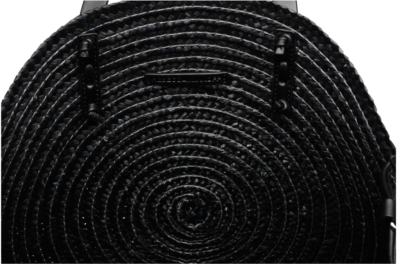 Rebecca 001 black Circle Minkoff Straw Tote 1xqP16pw