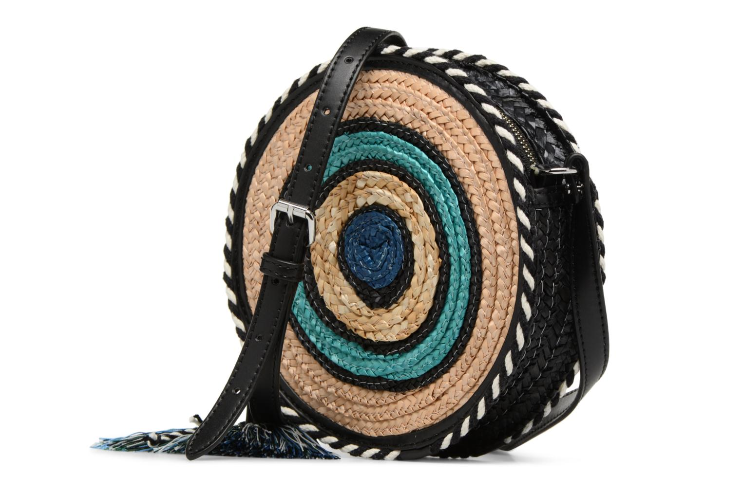 MULTI Minkoff Circle Rebecca Crossbody Straw BLUE 463B xYvdqOdw8