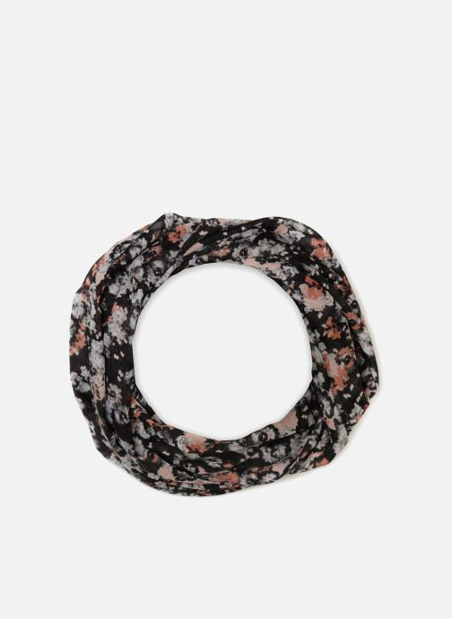 Sjaal Pieces Imaria Tube Scarf Zwart detail