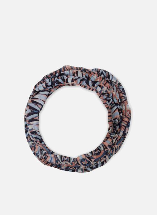 Echarpes et Foulards Pieces Irena Tube Scarf Bleu vue détail/paire