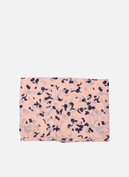 Sciarpa y foulard Pieces Ina Scarf 100x190 Rosa modello indossato