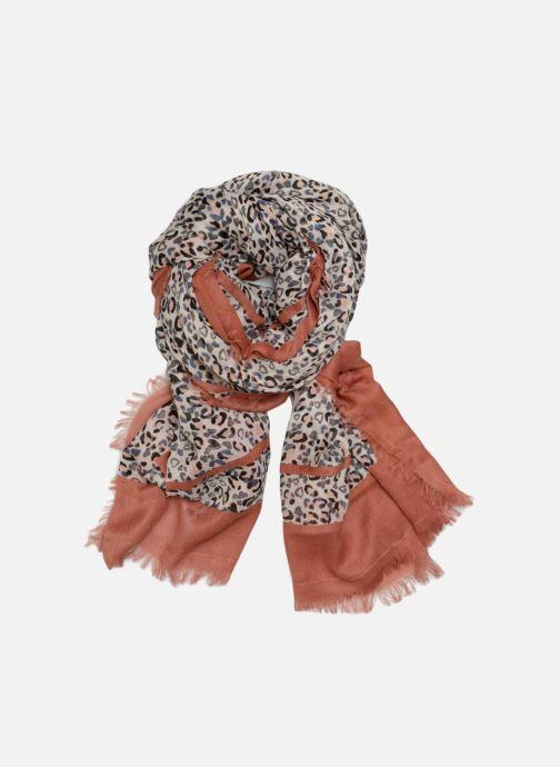 Halsduk och scarf Pieces Inat Long Scarf 100x200 Rosa detaljerad bild på paret