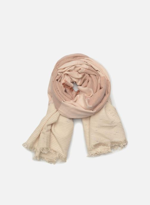 Sjaal Pieces Alina Long Scarf 80x145 Roze detail