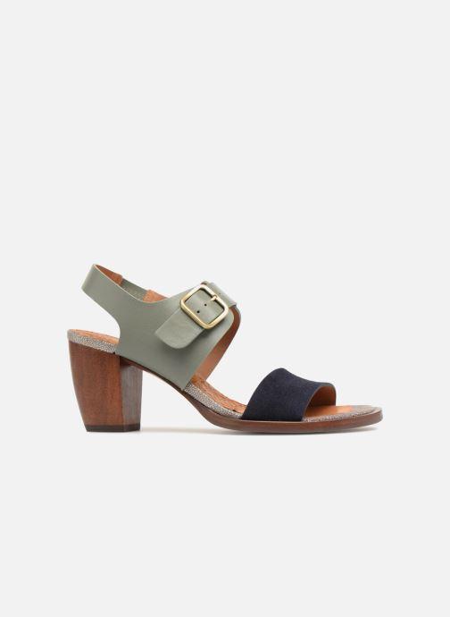 Sandals Chie Mihara Queva32 Blue back view