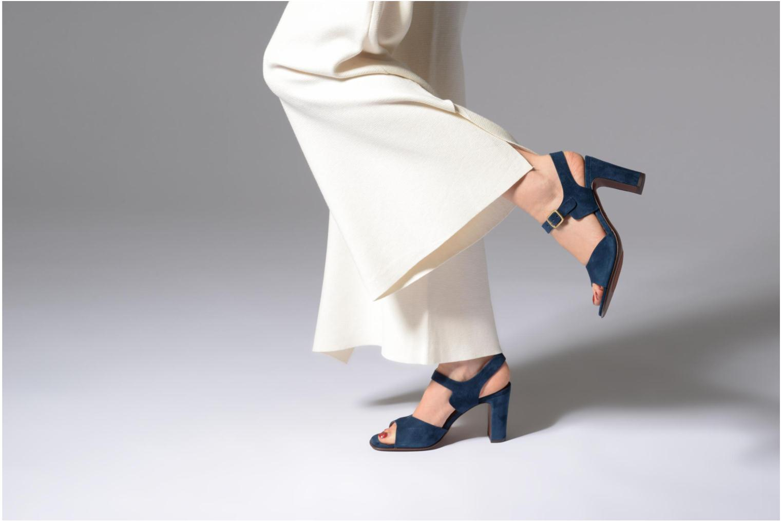 Sandals Chie Mihara Chuli32 Blue view from underneath / model view