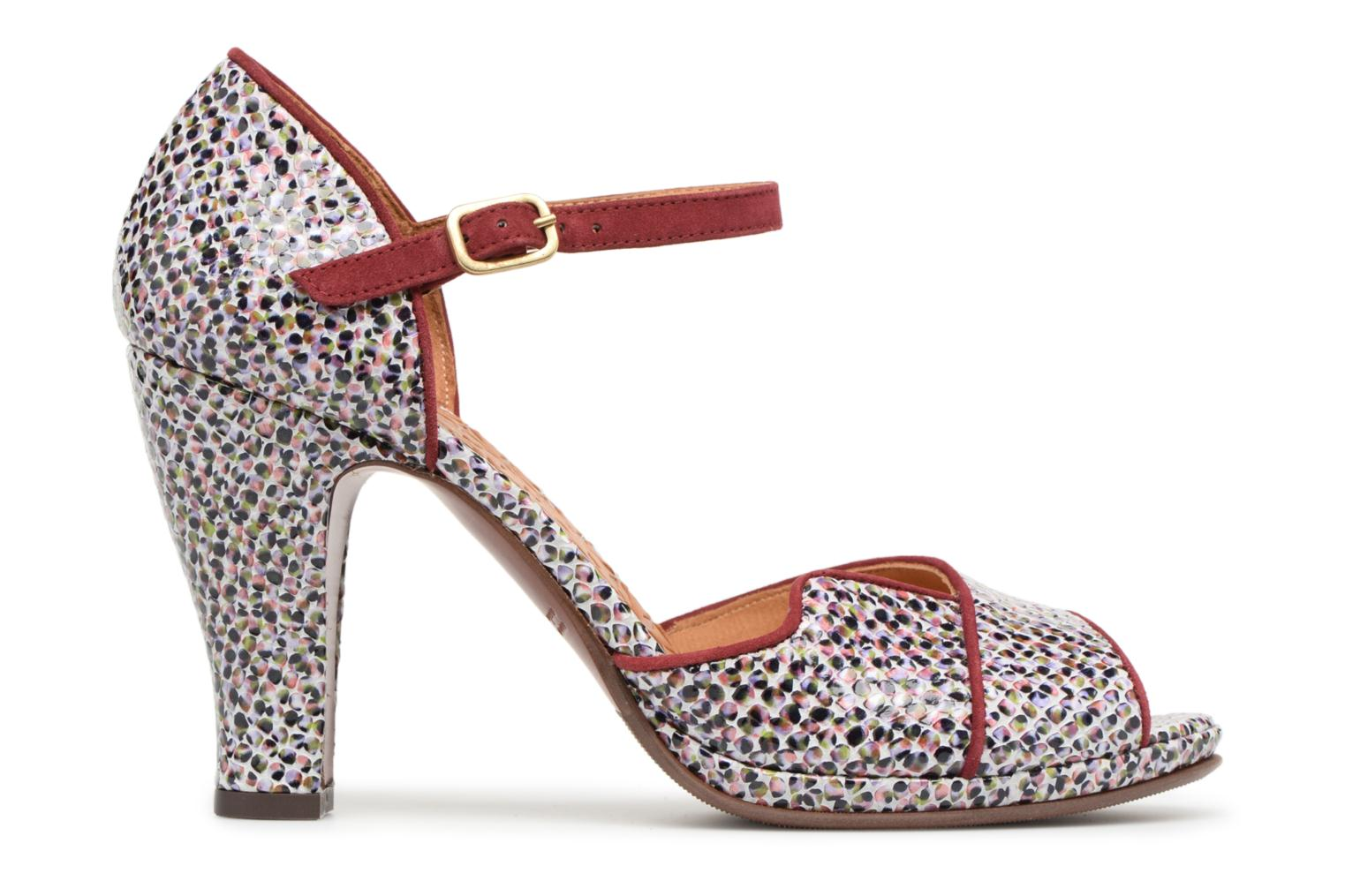 High heels Chie Mihara Fan32 Multicolor back view