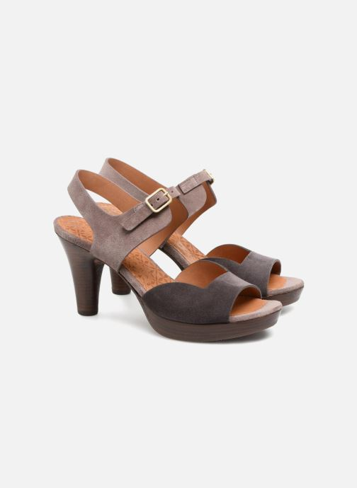 Sandales et nu-pieds Chie Mihara Loteria32 Violet vue 3/4
