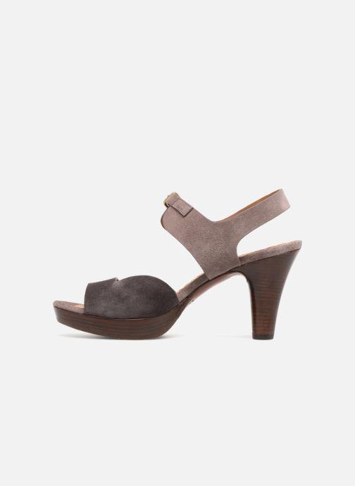 Sandales et nu-pieds Chie Mihara Loteria32 Violet vue face