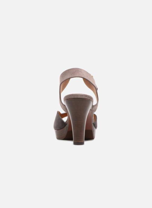 Sandales et nu-pieds Chie Mihara Loteria32 Violet vue droite