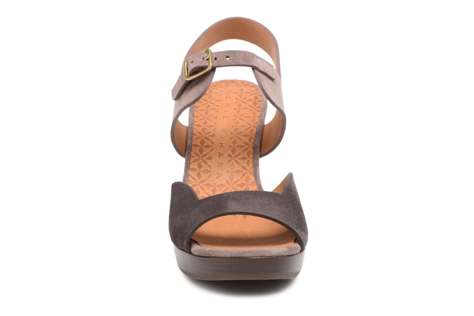 Sandals Chie Mihara Loteria32 Purple model view