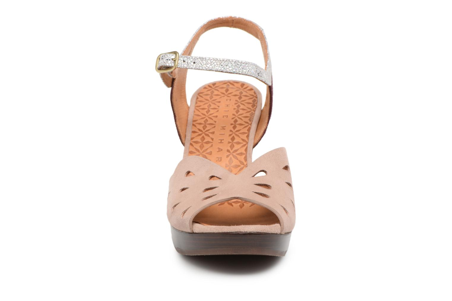 Sandals Chie Mihara Loha32 Beige model view