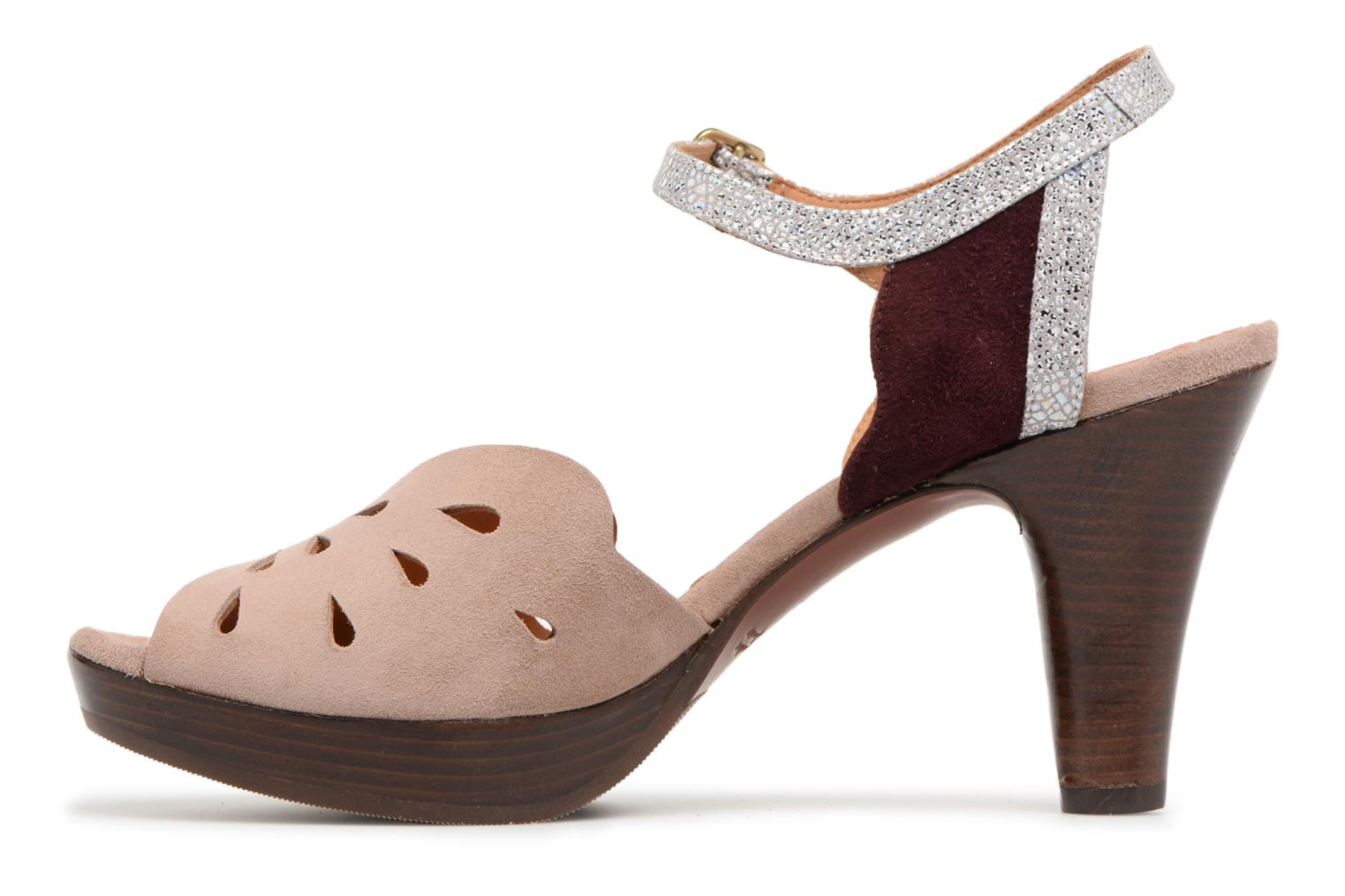 Sandals Chie Mihara Loha32 Beige front view