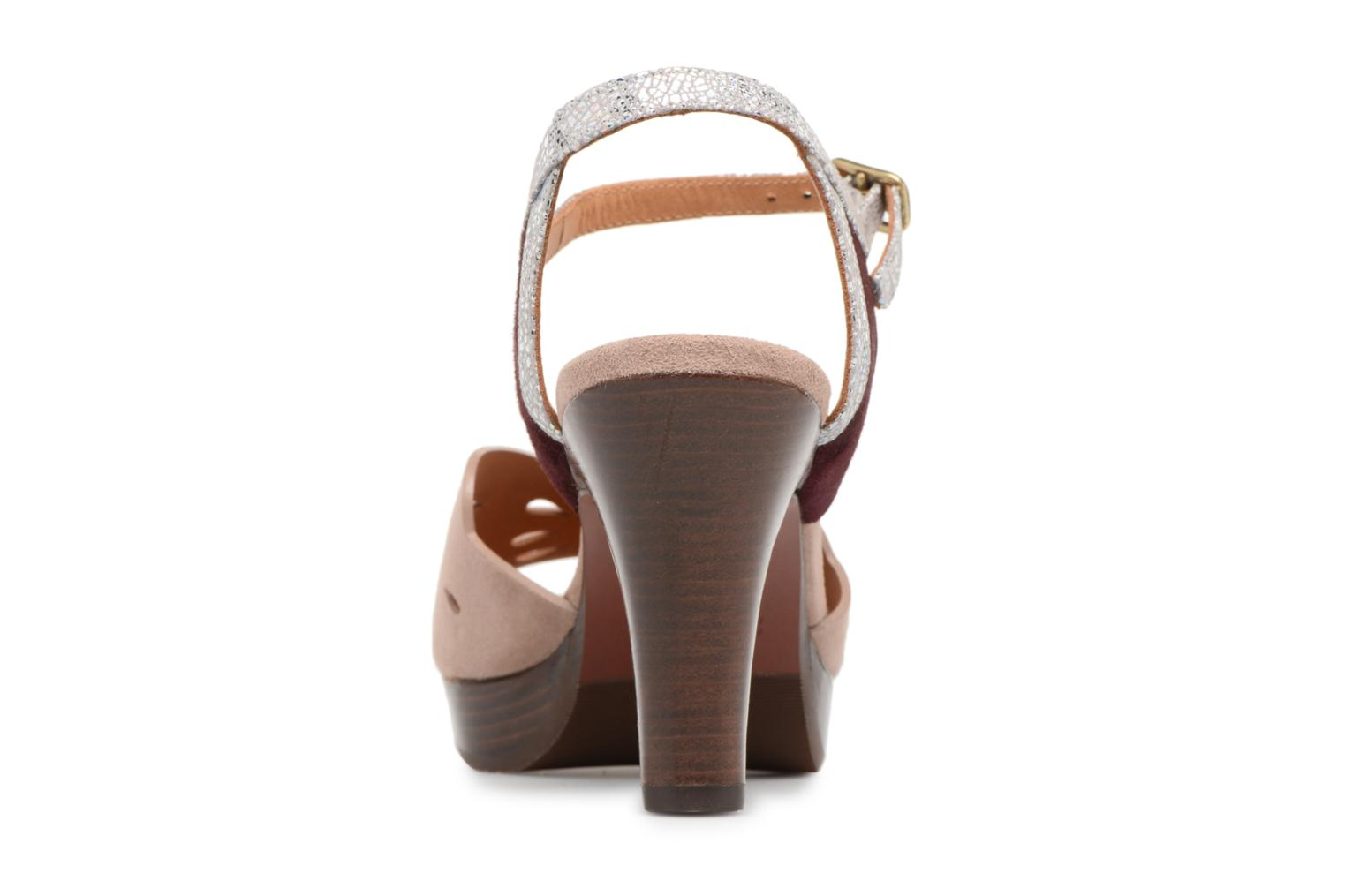 Sandals Chie Mihara Loha32 Beige view from the right