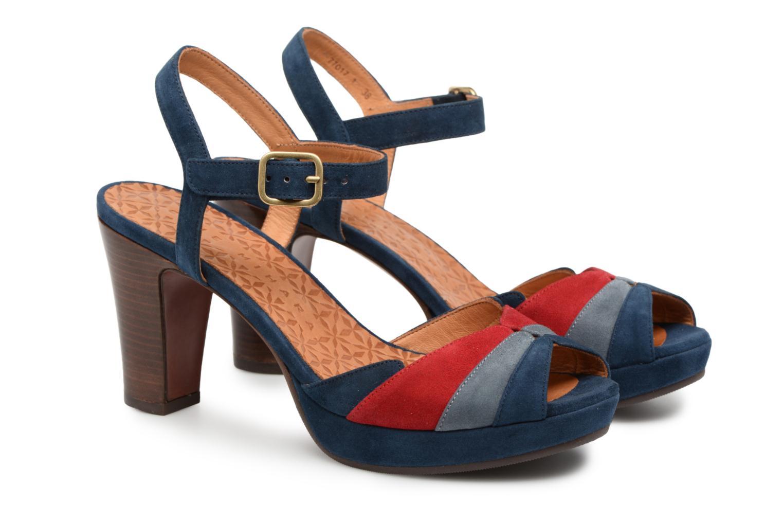Sandales et nu-pieds Chie Mihara Edita Bleu vue 3/4