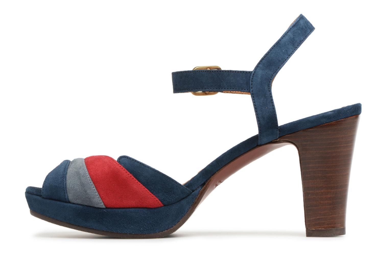 Sandales et nu-pieds Chie Mihara Edita Bleu vue face