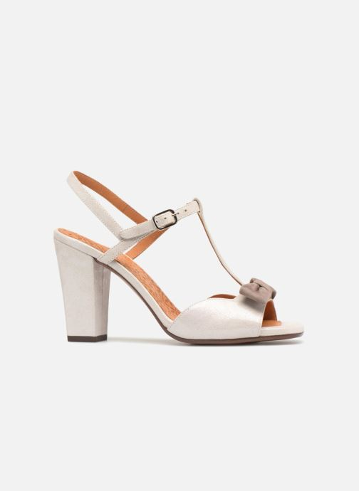 High heels Chie Mihara Braile Silver back view