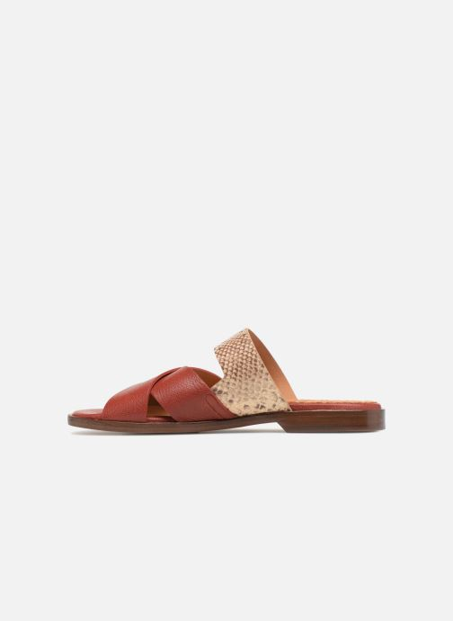 Mules & clogs Chie Mihara Wanda Red front view