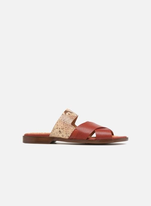 Mules & clogs Chie Mihara Wanda Red back view
