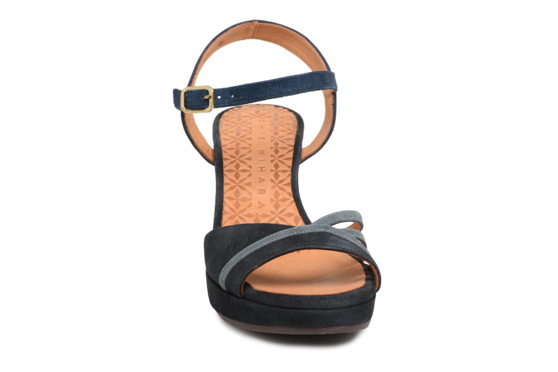 Sandals Chie Mihara Basi Blue model view