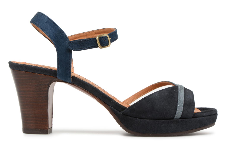 Sandals Chie Mihara Basi Blue back view
