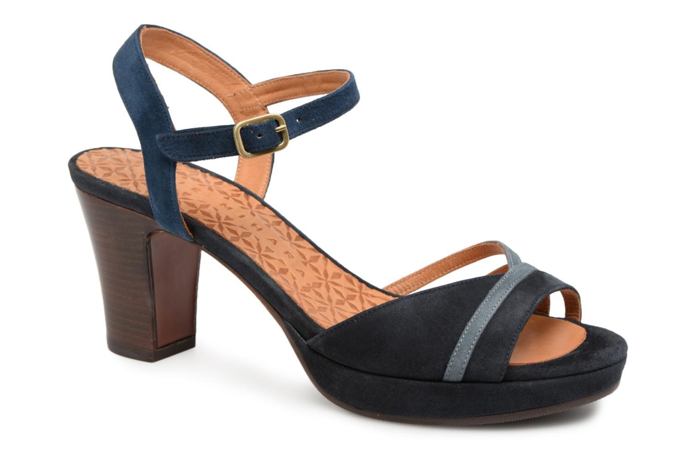 Sandals Chie Mihara Basi Blue detailed view/ Pair view