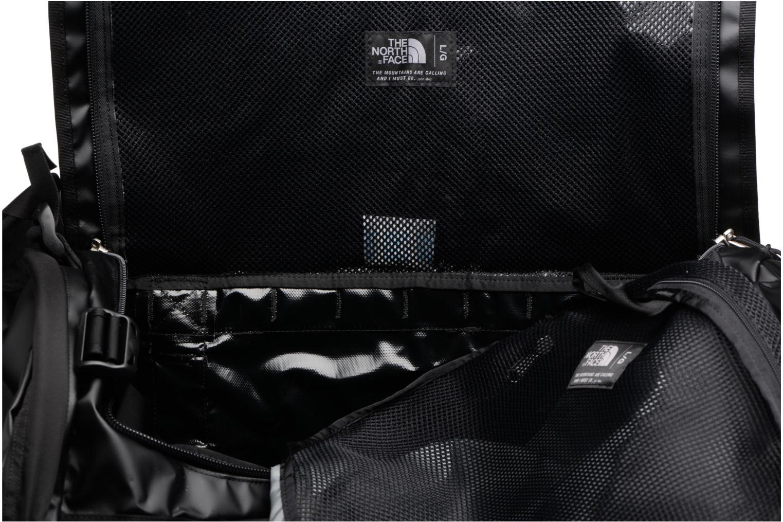 Sporttaschen The North Face BASE CAMP DUFFEL - L schwarz ansicht von hinten