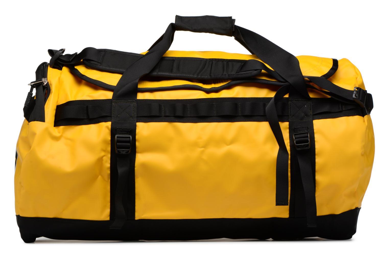 Sporttaschen The North Face BASE CAMP DUFFEL - L gelb ansicht von vorne