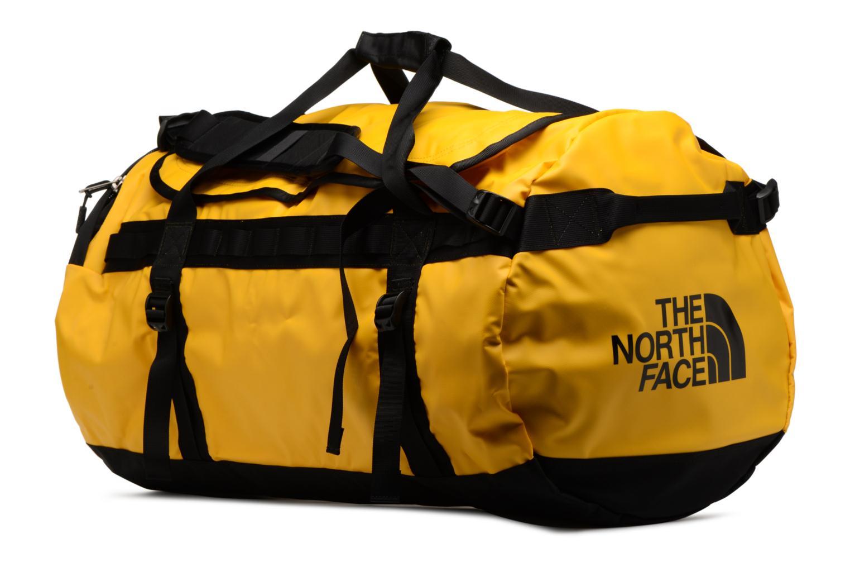 Sporttaschen The North Face BASE CAMP DUFFEL - L gelb ansicht von rechts