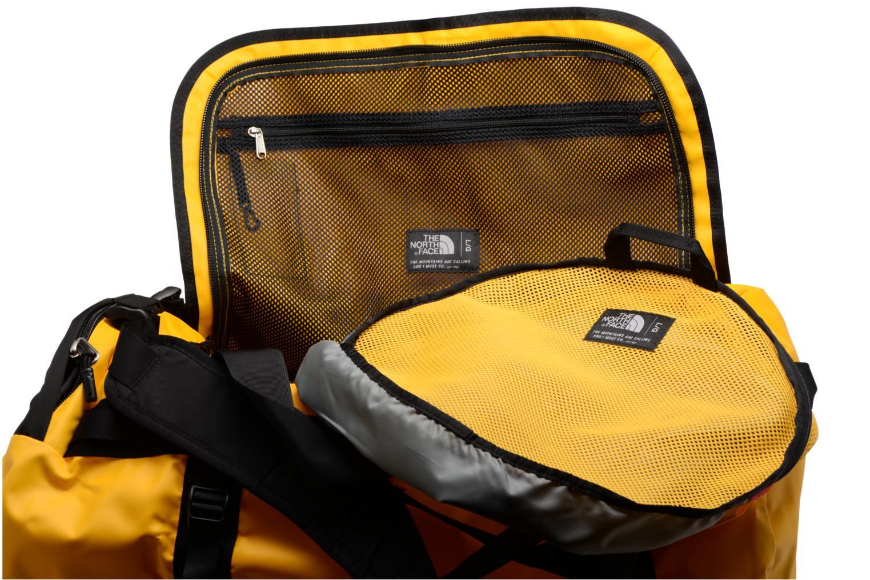 Sporttaschen The North Face BASE CAMP DUFFEL - L gelb ansicht von hinten
