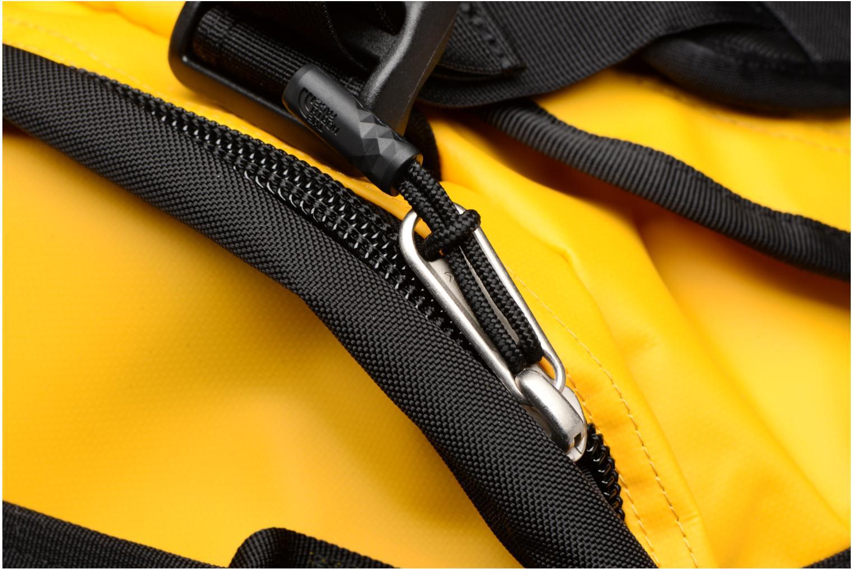 Sporttaschen The North Face BASE CAMP DUFFEL - L gelb ansicht von links