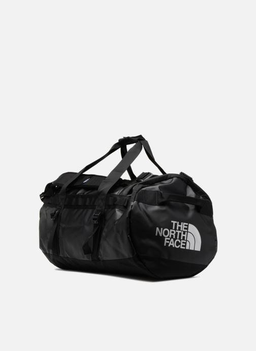Bolsas de deporte The North Face BASE CAMP DUFFEL - M Negro vista del modelo
