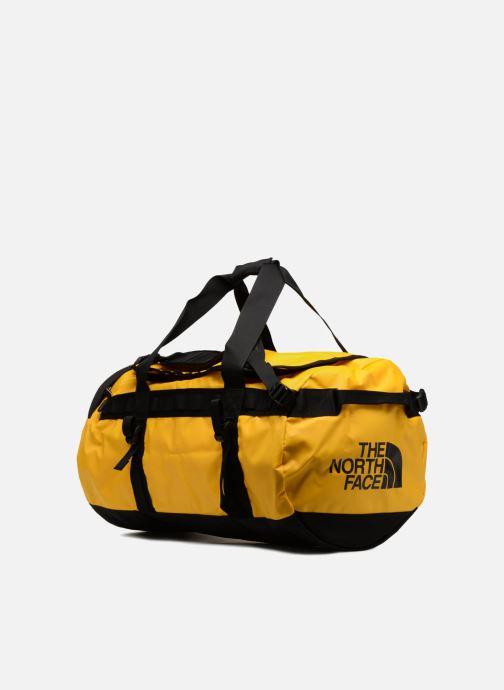 Sports bags The North Face BASE CAMP DUFFEL - M Yellow view from the right