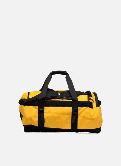 Sporttassen The North Face BASE CAMP DUFFEL - M Geel detail