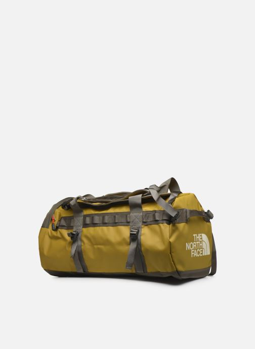 Borsa da palestra The North Face BASE CAMP DUFFEL - M Verde modello indossato