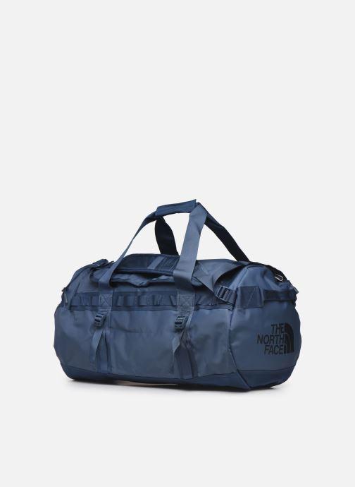 Sacs de sport The North Face BASE CAMP DUFFEL - M Bleu vue portées chaussures