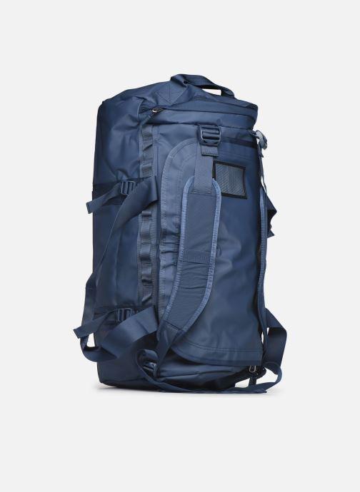 Sporttaschen The North Face BASE CAMP DUFFEL - M blau ansicht von links