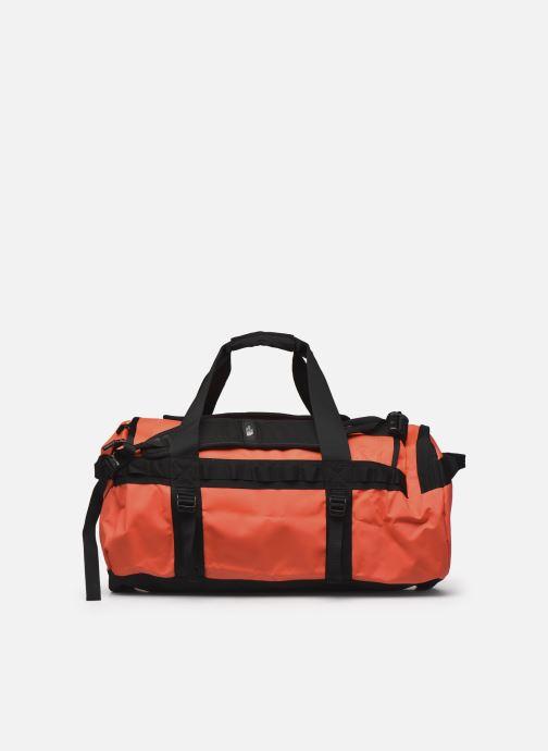 Sporttaschen The North Face BASE CAMP DUFFEL - M orange ansicht von vorne