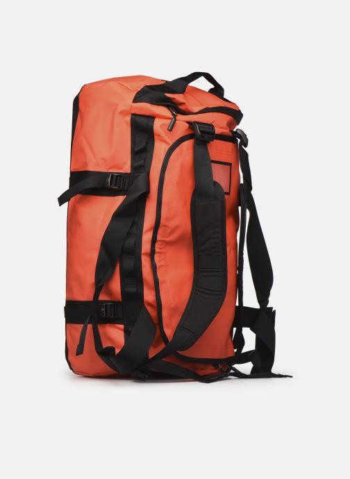 Sporttaschen The North Face BASE CAMP DUFFEL - M orange ansicht von rechts