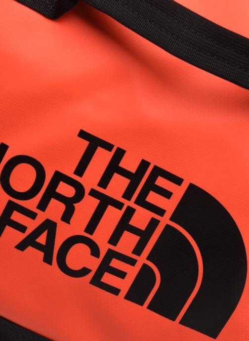 Sporttaschen The North Face BASE CAMP DUFFEL - M orange ansicht von links
