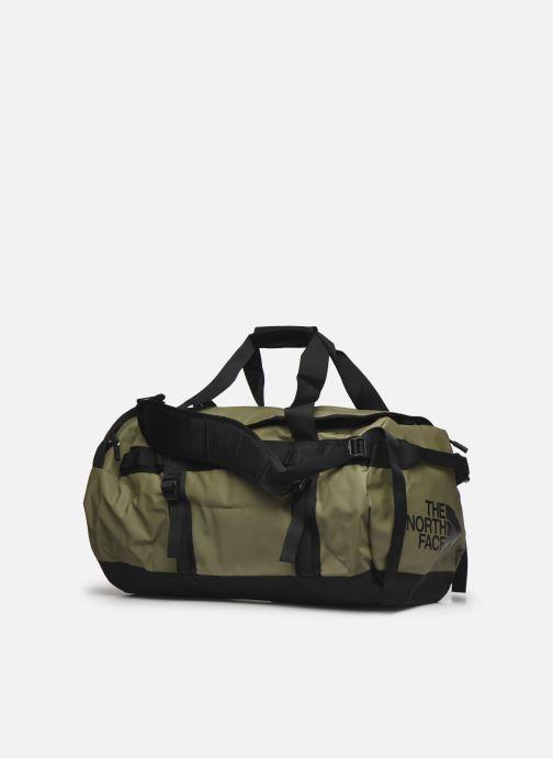 Sporttaschen The North Face BASE CAMP DUFFEL - M grün schuhe getragen