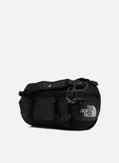 Sporttaschen The North Face BASE CAMP DUFFEL - S schwarz schuhe getragen