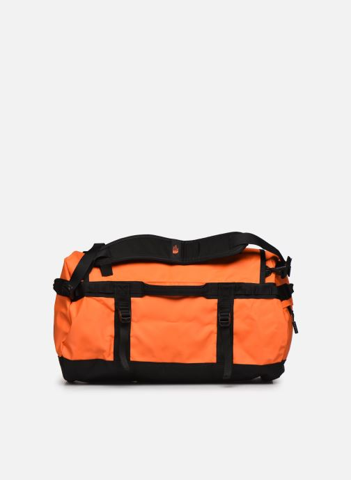 Sporttaschen The North Face BASE CAMP DUFFEL - S orange ansicht von vorne