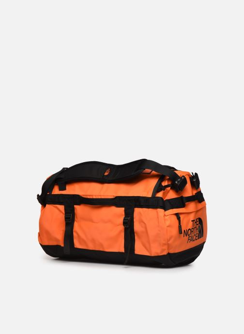 Sporttaschen The North Face BASE CAMP DUFFEL - S orange ansicht von rechts
