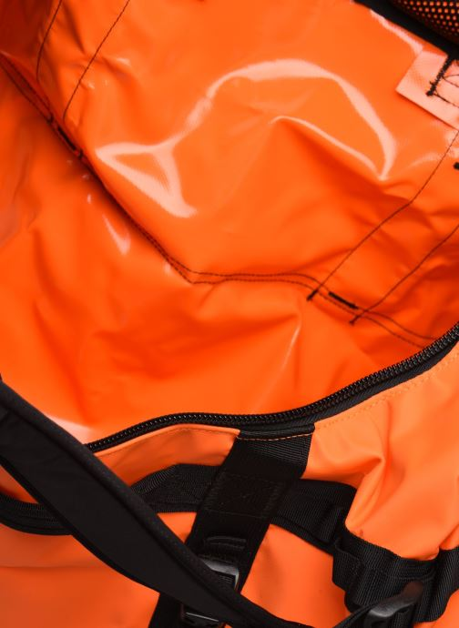 Sporttaschen The North Face BASE CAMP DUFFEL - S orange ansicht von hinten