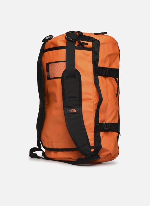 Sporttaschen The North Face BASE CAMP DUFFEL - S orange ansicht von links